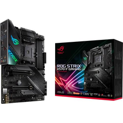Asus ROG Strix X570-F Gaming Mainboard Sockel AMD AM4 Formfaktor ATX Mainboard-Chipsatz AMD® X570