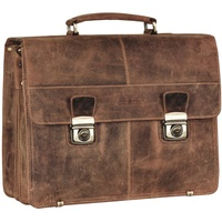 GREENBURRY Vintage XL Aktentasche TA0710-25 brown