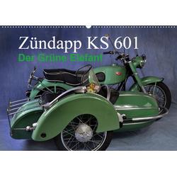 Zündapp KS 601 (Wandkalender 2021 DIN A2 quer)