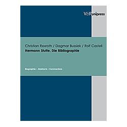 Rolf Castell  Christian A. Rexroth  Dagmar Bussiek  - Buch