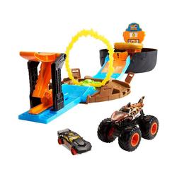 Mattel® Spielzeug-Auto Hot Wheels Monster Trucks Stunt-Reifen Spielset