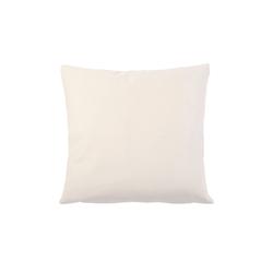 Gözze Kissenhülle Duval in weiß, 40 x 40 cm