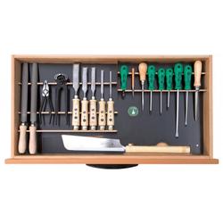 Ulmia Werkzeugsatz 306 mit Halterung für Unterbauschrank ohne Unterbauschrank Ausführung 2018 196.336