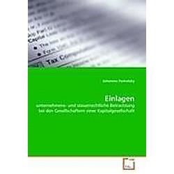 Einlagen. Johannes Podratzky  - Buch