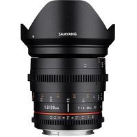 Samyang 20mm T1,9 ED AS UMC Sony E