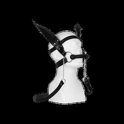Rimba Pferdetrense mit Zügel und Ohren