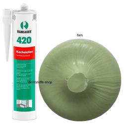 Ramsauer 420 Kachelofen farn 1K Acryl Dichtstoff 310ml Kartusche