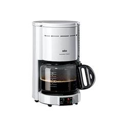 BRAUN KF 47/1 Classic Kaffeemaschine weiß
