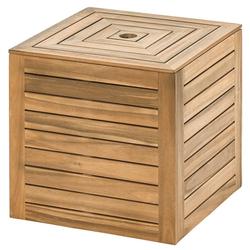 Dehner Gartenmöbelset Schirmständer Macao, Ø Schirmstock 5 cm, FSC® Holz