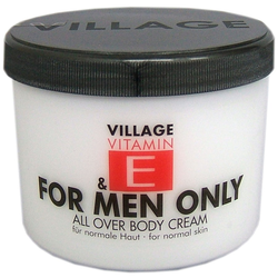 Village 500 ml Bodycream for Men only Körpercreme 500ml