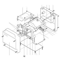 PROXXON 27040-02-05 Achse für Dickenhobel DH40