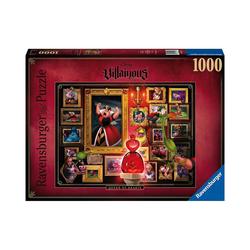 Ravensburger Puzzle Disney Villainous - Queen of Hearts, 1.000 Teile, Puzzleteile