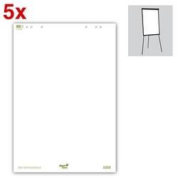 Ursus Flipchart-Papier Green blanko