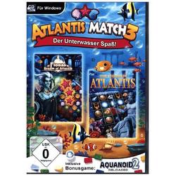 Atlantis Match 3 Der Unterwasser Spaß! 1 CD-ROM