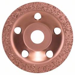 Bosch Accessories 2608600176 Hartmetalltopfscheibe, 115 x 22,23 mm, mittel, flach mittel, flach Ø 1