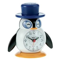 Mebus Wecker Pinguin weiß Kunststoff