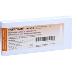 RUFEBRAN rheumo Ampullen 10 St