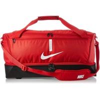 Nike Academy Team L Hardcase Duffel Bag, rot weiss
