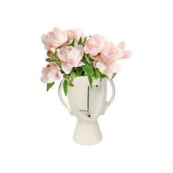 KARE Dekovase Vase Face Pot 30cm