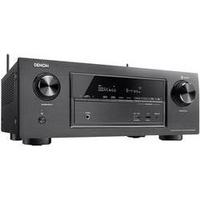 7.2 AV-Receiver Denon AVR X2400H 7x150 W Schwarz 4K UltraHD, Bluetooth®, Dolby Atmos®, USB, WLAN Schwarz