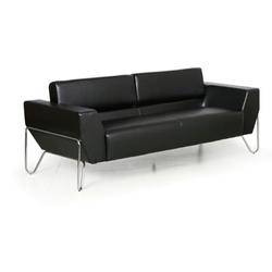 Sofa spider, 3 sitzplätze, schwarz