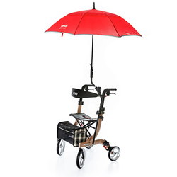 Avena Herren Rollator-Regenschirm Rot 1