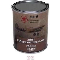 MFH 40361 Farbdose Army BRAUN Braun (matt) 1l