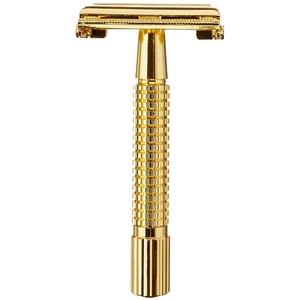 Golddachs Doppelklingen-Rasierer, gold