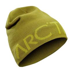 Arcteryx Beanie ARCTERYX Word Head Long Toque Beanie stylische Strick-Mütze Kopfbedeckung Oliv-Grün