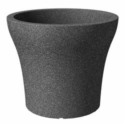 SCHEURICH Pflanzgefäß No1 Stone 60cm schwarz granit