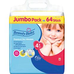 Beauty Baby Windeln Premium Dry Größe Gr.4 (10-15 kg) für Babys und Kleinkinder