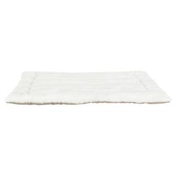 Trixie Liegematte Nelli weiß-taupe/hellbraun für Hunde, Maße: 80 x 60 cm