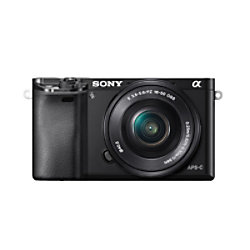 Sony Kamera Alpha 6000 Kit SEL-P 16-50 Schwarz