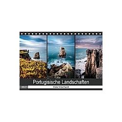 Portugisische Landschaften (Tischkalender 2021 DIN A5 quer) - Kalender