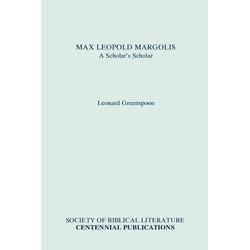 Max Leopold Margolis als Taschenbuch von Leonard Greenspoon