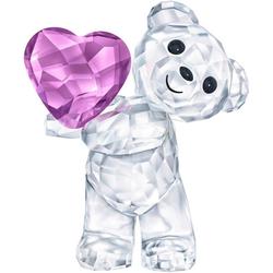 Swarovski Dekofigur Kris Bär – Nimm mein Herz, 5427995 (1 Stück), Swarovski® Kristall