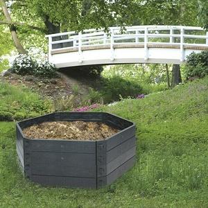 KHW Komposter SK 550 Basismodul  (550 l, 130 x 50 cm)