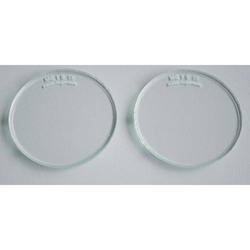 Brillengläser Schutzgläser Brillenschutzgläser Ø50mm rund farblos VPE 1 Paar