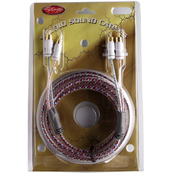 Stagg YC-3.5/2C2C DL Pro HiFi-Kabel - 2x Cinch M/ 2x Cinch M