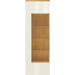 now! by hülsta Vitrine now! time mit Glasausschnitt, Höhe 216,3 cm weiß