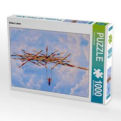 Risiko Leben Lege-Größe 64 x 48 cm Foto-Puzzle Bild von Conny Krakowski Puzzle