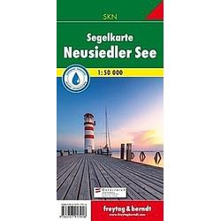 Freytag & Berndt Neusiedler See  Segelkarte 1:50.000 - Buch