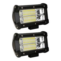 Einfeben LED Scheinwerfer LED Arbeitsscheinwerfer 2X 72W Scheinwerfer Auto 12V 24V lampen Flutlicht PKW Auto