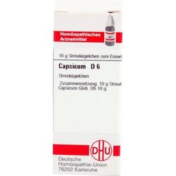 CAPSICUM D 6 Globuli