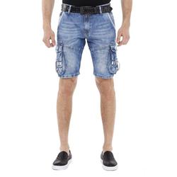 Cipo & Baxx Shorts mit schicken Cargotaschen 34