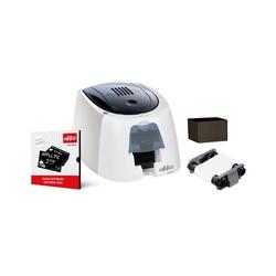 Edikio Access - einseitiger monochrom Druck (Kreditkartenformat), USB, Thermotransfer