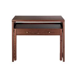 Schreibtisch oder Konsole braun ca. 88/100/38-69 cm