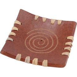 Guru-Shop Räucherstäbchen-Halter Keramik Räucherstäbchenhalter - Spirale