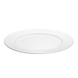 Pillivuyt Plissé Teller flach Ø 26 cm Weiß