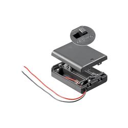 AccuCell Batteriehalter für 3 Stück Mignon AA LR6 Batterien Batterie